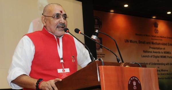 बिहार में जो भी नाम मुगलों से जुड़ा है उसे हटाया जाना चाहिए : गिरिराज सिंह