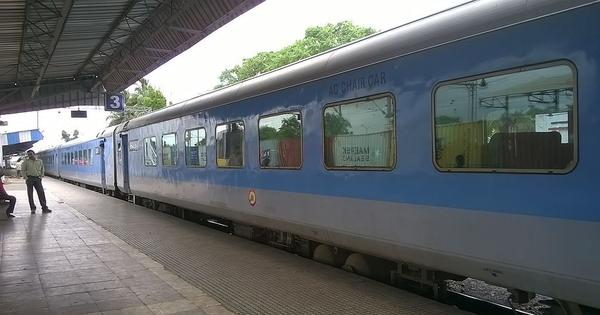 रेलवे ने 15 अप्रैल से ट्रेनों की बुकिंग शुरू की