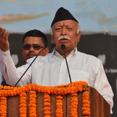 'Divorce cases are found more in educated, affluent families,' claims RSS chief Mohan Bhagwat