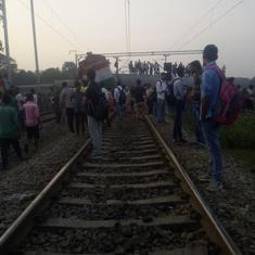 पंजाब के अमृतसर में बड़ा ट्रेन हादसा, कम से कम 50 लोगों की मौत