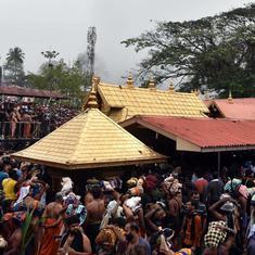 केरल : सबरीमला मंदिर जा रहीं दो अन्य महिलाओं को भी लौटना पड़ा