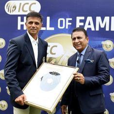 राहुल द्रविड़ आईसीसी हॉल ऑफ फेम में शामिल