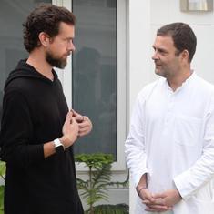 राहुल गांधी और ट्विटर के सीईओ की मुलाकात को लोग सोशल मीडिया पर 'गठबंधन' क्यों बता रहे हैं?