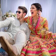 तस्वीरों में : प्रियंका चोपड़ा और निक जोनस विवाह बंधन में बंधे