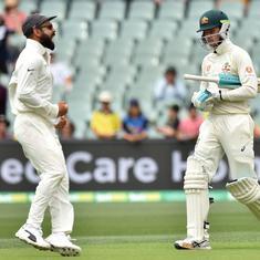 एडिलेड टेस्ट : चौथे दिन भारत ने ऑस्ट्रेलिया पर शिकंजा कसा