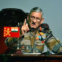 'Three terror camps in PoK destroyed, six to 10 Pakistani soldiers killed,' says Bipin Rawat