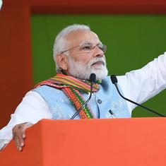 Modi says his government replaced UPA's corruption with high growth rate and low inflation