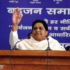 'Threat of economic recession is looming over the country,' says Mayawati