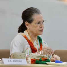 Covid-19: Sonia Gandhi demands rollback of fuel price increase, says Centre profiting off own people
