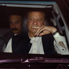 Former Pakistan Prime Minister Nawaz Sharif returns to jail after six-week bail expires