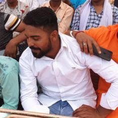 लोकसभा चुनाव : योगी आदित्यनाथ की रैली में दादरी हत्याकांड का आरोपित सबसे आगे बैठा दिखा