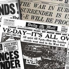 यूरोप में द्वितीय विश्व युद्ध के समाप्त होने के अलावा आठ मई के नाम और क्या दर्ज है?