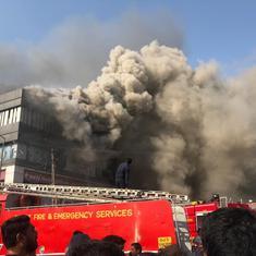 गुजरात : सूरत के कोचिंग सेंटर में लगी आग से मरने वालों की संख्या 21 हुई, मालिक ग़िरफ़्तार