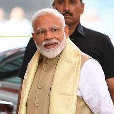 Narendra Modi has set up two Cabinet panels to tackle slowing growth and unemployment, say reports