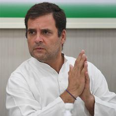 योगी आदित्यनाथ मूर्खतापूर्ण ढंग से व्यवहार कर रहे हैं : राहुल गांधी