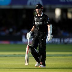 विश्व कप फाइनल :  न्यूजीलैंड ने इंग्लैंड को 242 रन का लक्ष्य दिया