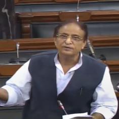 महिला सदस्य के खिलाफ आजम खान की टिप्पणी पर पूरी संसद के एकजुट होने सहित दिन के पांच बड़े समाचार