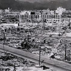 सारी दुनिया में हिरोशिमा की चर्चा थी - नहीं थी तो जापान और अमेरिका में