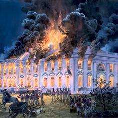 ब्रिटिश सेना के व्हाइट हाउस को आग के हवाले करने सहित 24 अगस्त के नाम और क्या दर्ज है?