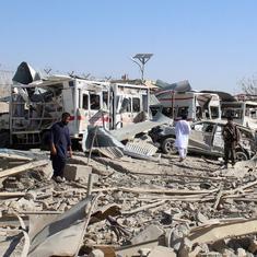 अफगानिस्तान में तालिबान के हमलों में 20 सुरक्षाकर्मियों की मौत