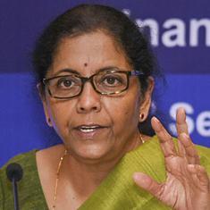 निर्मला सीतारमण पीएमसी बैंक के नाराज ग्राहकों से मिलीं, उनके हितों की रक्षा का वादा किया
