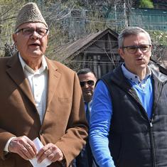 दो महीने बाद नजर आए नजरबंद फारूक अब्दुल्ला, पार्टी नेताओं से मुलाकात की