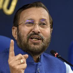 'No link between pollution and shorter lives': Environment Minister Prakash Javadekar