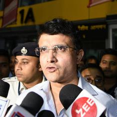 After Dravid, BCCI ethics officer now dismisses conflict of interest charges against Ganguly