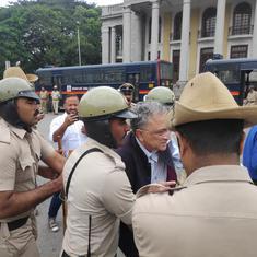 येदियुरप्पा ने रामचंद्र गुहा की गिरफ्तारी पर आश्चर्य जताया, पुलिस को संयम बरतने के निर्देश