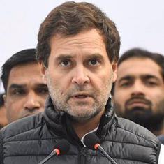 देश के खिलाफ जो काम दुश्मन न कर सके, वह नरेंद्र मोदी पूरी ताकत से कर रहे हैं : राहुल गांधी