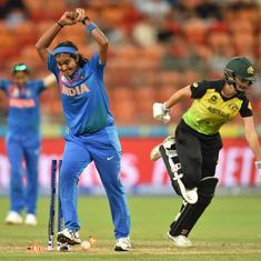 महिला टी-20 विश्व कप : भारत ने मौजूदा चैंपियन ऑस्ट्रेलिया को हराया