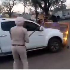 पंजाब : 'निहंगों' ने पुलिस पर हमला बोला, एएसआई का हाथ काटा