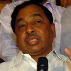 महाराष्ट्र में भाजपा जल्द ही सरकार बनाएगी : नारायण राणे