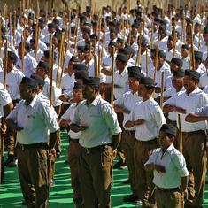 मध्य प्रदेश की सत्ता में आए तो सरकारी कर्मचारियों के शाखा में जाने पर रोक लगेगी : कांग्रेस