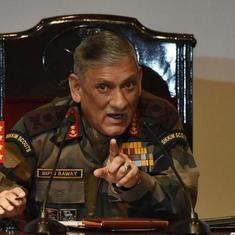 सेना में समलैंगिक संबंधों, व्यभिचार को अनुमति नहीं देंगे : जनरल बिपिन रावत