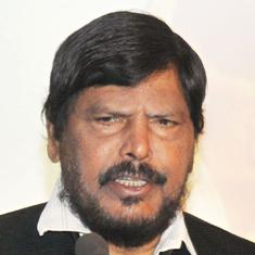 NDA ally Ramdas Athawale protests exclusion from BJP-Shiv Sena alliance in Maharashtra