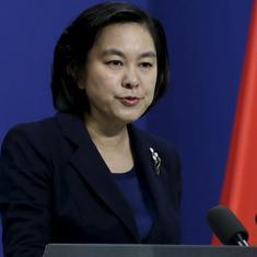 हांगकांग में चल रहे प्रदर्शनों के पीछे अमेरिका का हाथ : चीन