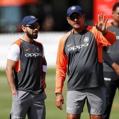 रवि शास्त्री फिर भारतीय टीम के मुख्य कोच बने