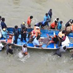उत्तर प्रदेश के बहराइच में नाव पलटी, तीन लोगों की मौत