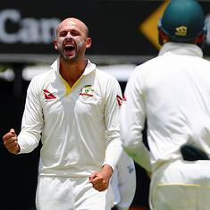 Third Test: Lyon grabs fifer to help Australia close in on a series clean sweep against New Zealand
