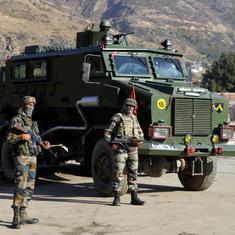 जम्मू और कश्मीर : सुरक्षा बलों ने एक आतंकी को मार गिराया